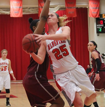 Lady Mounties fall to Lock Haven 64-62 in final seconds