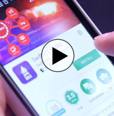 Emergency 101 – The Swift911 App