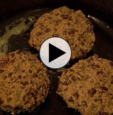 Cooking with Dad – Vulnerable Veggie Burgers