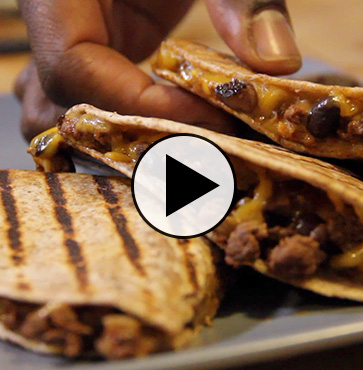 Cooking with Dad: Venison Quesadillas