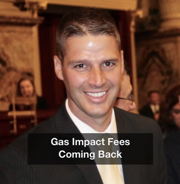 Gas Impact Fees Coming Back